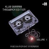 Klub Grammar Throwback Edition Volume 1