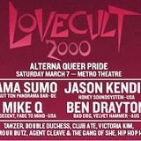 LOVECULT 2000 and fifteen.