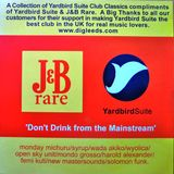 YARDBIRD SUITE MIX CD GIVEAWAY FOR j&B WHISKY