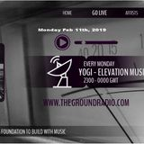 Elevation - Music with Feeling Feb 11th, 2019 The Ground Radio Show by Yogi