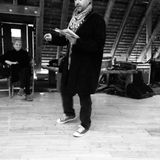 Paul Hawkins reading poems from Place Waste Dissent live at #sanctumbristol Nov 6th 2015
