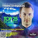 DJ FEEL - TOP 25 OF APRIL 2014 (28-04-2014)