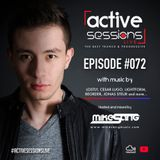 Active Sessions Live #072 By Mike Sang