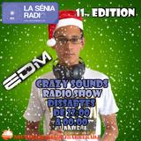Joan Barrera DJ -Crazy Sounds Radio Show 11 (Year Mix) @LaSeniaRadio