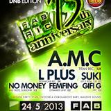 No Money (Dj C-phone) - Neurozone ° Fabric 13th Anniversary (May 2013)