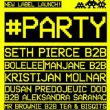 Kristijan Molnar b2b Manjane / WAXX TRAX™ Promo Party @ KC Drugstore, 20-12-2013