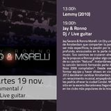La Mesa Barcelona Dj set and live guitar Jay and Ronno