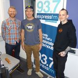 Russell Hill's Country Music Show on Express FM feat The Boxcar Johnny's + Icebreaker Fest. 28/01/18