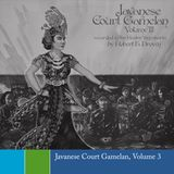 Various - Javanese Court Gamelan, Volume 3 - 1979