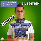 Joan Barrera DJ - Crazy Sounds Radio Show 21 @LaSeniaRadio