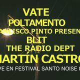 CAMPO ELÉCTRICO // VATE+ POLTAMENTO + F.PINTO PRESENTA (BLIT + THE RADIO DEPT) MARTIN CASTRO LIVE.