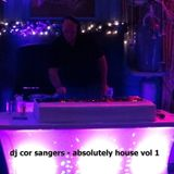 DJ COR SANGERS - ABSOLUTELY HOUSE VOL 1
