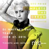 2015 Official NYC Pride Podcast: Whitney Day