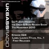 Ep. 024 - Labels First Releases, Vol. 1