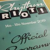 DJ Steve Stack O Wax Rockin' Radio at the 2019 Rhythm Riot