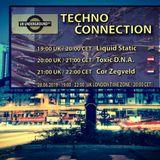 Liquid Static exclusive radio mix Techno Connection UK Underground FM 28/06/2019