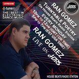 Ran Gomez Presents Turntable Poetry Live On HBRS 25-09-17