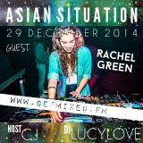 Rachel Green bij Asian Situation @ Getmixed Radio - www.getmixed.fm - 29122014