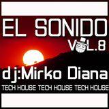 El Sonido vol.8 (Dj Mirko Diana 2015)