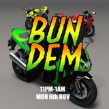 Bun Dem - Cloudwaves on RTR.FM - 6th November 2017