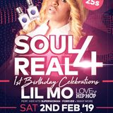 Soul 4 Real 1st Birthday Promotional Mix CD