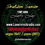 Lady Loy Interviews Sheldon Senior on Lovers Rock Radio, which reveals inspirational messages
