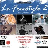 #LEFREESTYLE s2017e02 2017/04/27 // Andross vs Aspect Mendoza vs Osti One vs Pres One