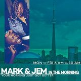 Tesharah Briscoe on Mark & Jem in the Morning (Good Morning from Jamaica) - Thursday January 19 2017