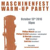 Andi Aka @Maschinenfest 2k16 Warm-Up Party, Oberhausen, Cosmo Club