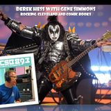 Derek Hess of WCSB Talks with Gene Simmons of KISS