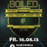 @ hard boiled - club favela
