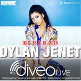 Dylan Jenet mydiveo LIVE on Dash Radio