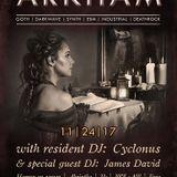 Arkham guest dj set: BLACK FRIDAY 24/11/17