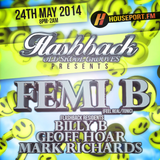 FLASHBACK OLD SKOOL GROOVES PRESENTS.....FEMI B LIVE ON HousePort.FM Pt2 24/05/14