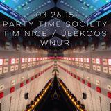 PTS Radio 03.26.15 - Tim Nice & Jeekoos