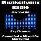 Marky Boi - Muzikcitymix Radio Mix Vol.86 (Psy/Trance)