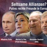 Kremls Zusammenarbeit mit den westlichen Rechtsextremen & die Sympathien in der russischsprachigen..
