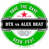 David DTX vs Alex Beat Live @ Cierre SAVE THE RAVE · Beer Fest (3.8.2013)