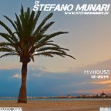 MYHOUSE – 2014 12 – DJ STEFANO MUNARI