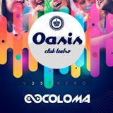 Coloma DJ Live @ Oasis Club Teatro, Zaragoza (Spain) 25-1-2019