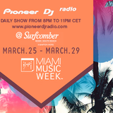 Miami Music Week 2015 from The Surfcomber Hotel Sunday March 29th
