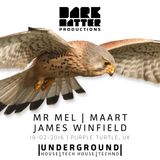 Dark Matter Presents - Feb 2016 - Mr Mel, MAART, James Winfield