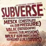 Subverse on DuskFM - Sub.mission Spesh - Max Mischief