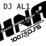 DJ AL1 House Nation Radio Show (23 décembre 2012)