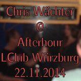 Chris Wächter - LClub Würzburg Afterhour 22.11.2014 LIVE Part 3