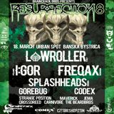 Braincrack Bros podcast 25 mixed by  GOREBUG - live from RESURRECTION 8