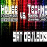 Tom Nihil @ House vs Techno - Underground Club Hannover - 09.11.2013