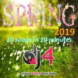 Spring 2019 hits: 10 amazing songs mixed in 10 minutes
