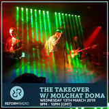 The Takeover w/ Molchat Doma Wednesday 13th March 2019