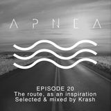 Episode 20 - The route, as an inspiration - Selected and mixed by Krash